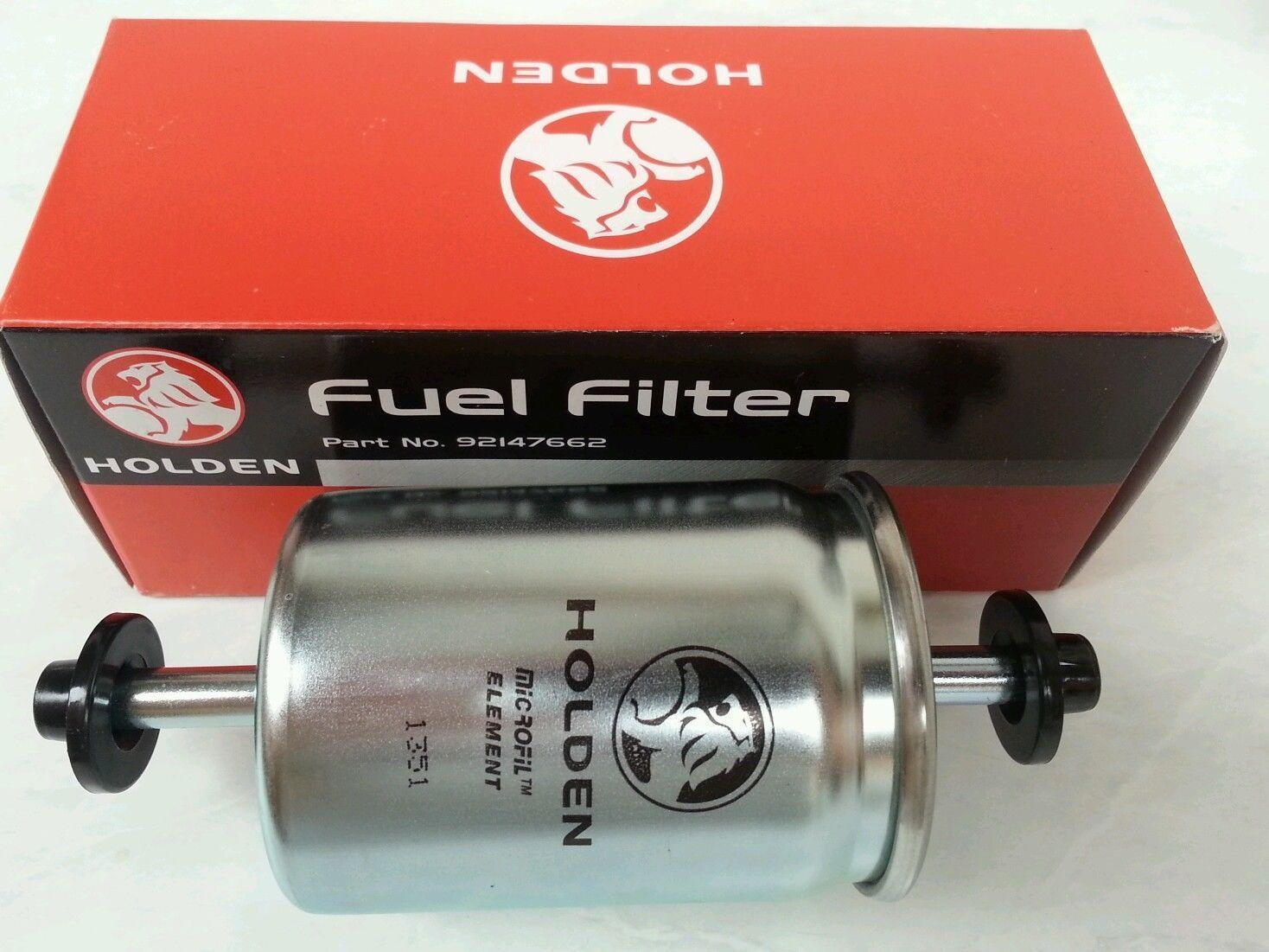 how to change fuel filter ve commodore