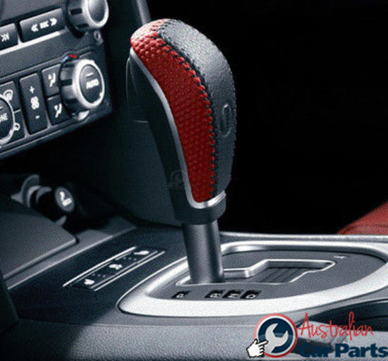 LEATHER AUTO GEAR KNOB RED HOT Auto 92206988 suitable for