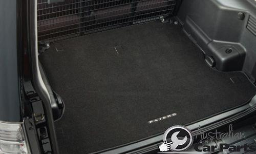 Mitsubishi Pajero Cargo Carpet Mat 2006-2015 New Genuine LWB Boot liner