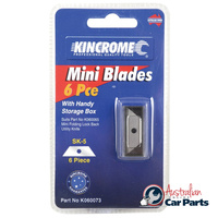 REPLACEMENT MINI BLADE 6PC K060073 KINCROME NEW