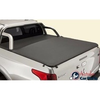 Soft Tonneau Flush fit Mitsubishi Triton MQ 2016- Genuine  Dual cab for Sports Bar Type