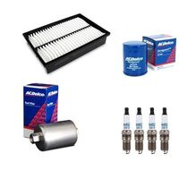 SERVICE KIT OIL AIR FUEL FILTERS & SPARK PLUGS ACDelco suitable for Mazda 6 GG 2.3l 2002-07 l3