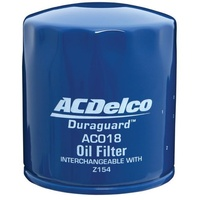 OIL FILTER ACDelco  suitable for HOLDEN Commodore V6 VP VR VS VT VX VY AC018 Z154