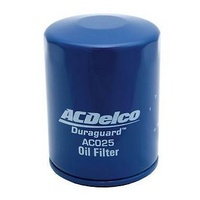 OIL FILTER ACDelco suitable for HOLDEN Commodore V8 VP VR VS VT VX VY  AC025 Z160