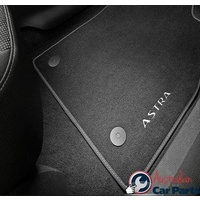 Carpet Floor Mats suitable for Holden ASTRA 2015-2016 Genuine HATCH Set of 4 13334043 NEW