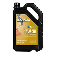 ENGINE OIL 5L ACDelco DEXOS2 5W/30 suitable for TOYOTA MITSUBISHI FORD MAZDA HYUNDAI NISSAN 19104984