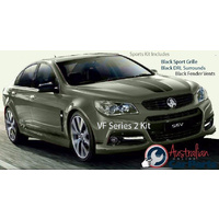 Sports kit inc Black Grille, DRL, Fender surrounds suitable for Holden Commodore VF S2 Genuine