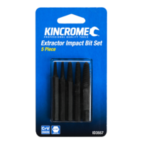 "KINCROME Extractor Impact Bit Set 5/16"" Drive 5 Piece ID3557 NEW"