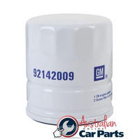 OIL FILTER RA RODEO COLORADO 2.4 Y24SE 2007-11 petrol Genuine GM Holden 92142009