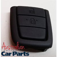 2 x REPLACEMENT BATTERY & KEY REMOTE 2 BUTTON PAD for COMMODORE VE UTE WAGON 2006-2013