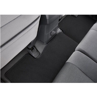 Carpet Floor mats Rear suitable for Colorado RG Genuine 2015-2019 Crew Cab