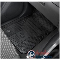 Rubber Floor mats Front suits Colorado RG Genuine 2015-2019 Single,Crew & Space Cab