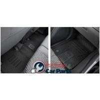 Rubber Floor mats Front & Rear suitable for Colorado RG Genuine 2012-2014 Crew & Space Cab
