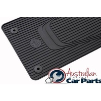 Front & Rear Rubber Mats all weather Genuine suitable for Holden Commodore VF 2013-2014-2015