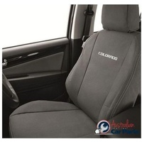 Front Seat Canvas Covers suitable for Holden Colorado RG Genuine New 2012-2018 accessories