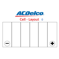 Battery  ACDelco AD56638