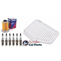 Service Kit OIL AIR FILTER SPARK PLUGS gm ACDelco suitable for HOLDEN VE V6 Commodore