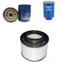 OIL AIR FUEL FILTERS SERVICE KIT ACDelco suitable for MAZDA BT50 2.5L 3.0L 2006-2011 DIESEL
