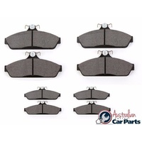 Brake disc Pad Set Front & Rear for Holden Commodore VE 2006-2012 Acdelco