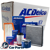 Filter kit Air Oil Fuel filters for HOLDEN Commodore VT VX VY V6 3.8L ACDelco 1997-2004