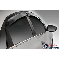 Tinted Style Visors suitable for Hyundai i30 Hatch GD 2012-2016 Genuine weathershields