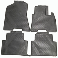 Rubber Floor Mats suits Hyundai Tucson 2015-2019 Genuine set of 4 D7A21APH00