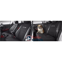 Front & Rear Seat Covers set suitable for Mazda CX3 2015- accessories DK11ACSCF New Genuine