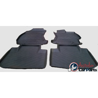 Liberty Rubber Mats suitable for Subaru 2015-2016 Genuine FR & RR SET NEW J5010AL100