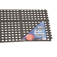 Interlocking Anti-Fatigue Rubber Matting RBR MAT Kincrome K7130