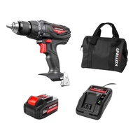 Katana By Kincrome 18V Lithium-Ion Cordless Hammer Drill Combo with Battery & Charger 220501