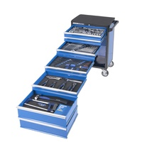 "Kincrome EVOLUTION TOOL TROLLEY 232 PIECE 5 DRAWER 1/4"", 3/8"" AND 1/2"" DRIVE K1630"