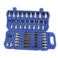 "Hex Socket Set 30 Piece 1/2"" Square drive Kincrome K2124"