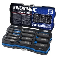 "Deep Impact Socket Set 12 Piece 3/8"" Drive Imperial LOK-ON™ Kincrome K27079"