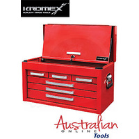 6 Drawer Tool (box) Chest with lockable front cover Kromex Tools New KTS400