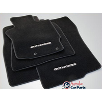 Carpet Floor Mats suitable for Mitsubishi Outlander ZG ZH Manual 2007-2012 NEW Genuine