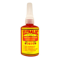 Ultraloc Threadlocking Compound Red - Anaerobic High Strength - High Temp - High Viscosity 10ml