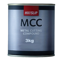 Molyslip Metal Cutting Compound Soft Past Compound for Brush or Dip Applications 3kg tin