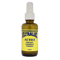 Ultraloc Instant Adhesive Primer Single Component ACT05 Solvent Based - Increase Bond Speed & Strength 100ml