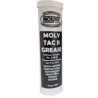 Molytec Tac II Multi Purpose Grease High Quality, Multi Purpose, Extreme Pressure & Water Resistant 450g Cartidge