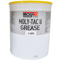 Molytec Tac II Multi Purpose Grease High Quality, Multi Purpose, Extreme Pressure & Water Resistant 2.5l Tub