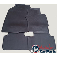Floor Mats Rubber auto suitable for Mitsubishi CJ LANCER 2007-2015 BLACK MZ350133 New Genuine
