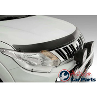 Headlamp & Tinted Bonnet Protector Combo suitable for Mitsubishi Triton MQ 2016- Genuine New