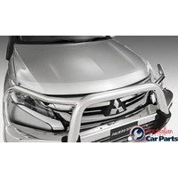 Clear Bonnet & Headlamp Protector combo suitable for Mitsubishi Pajero Sport QE 2016- Genuine