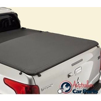 Soft Tonneau Flush fit Mitsubishi Triton MQ 2016-2017 Genuine  Dual cab no Sports Bar Type