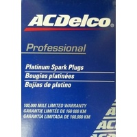 SPARK PLUGS ACDelco suitable for LIBERTY SUBARU 2.5l PLATINUM 2009-2012 160 000KM SERVICE