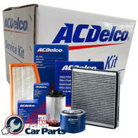 OIL AIR FILTERS SPARK PLUG SERVICE KIT ACDelco suitable for SUBARU OUTBACK 4CYL 2.5L 1998-03 PLATINUM