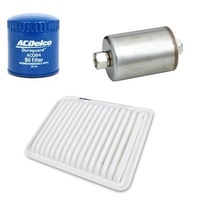 OIL FUEL & AIR FILTER KIT ACDelco suitable for FORD TERRITORY 4.0l petrol New OE level