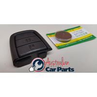 REPLACEMENT BATTERY & KEY REMOTE 2 BUTTON UTE WAGON suitable for COMMODORE VE NEW 2006-13