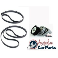 Drive & Air con Belt & Tensioner Kit suitable for Holden Commodore V8 5.7 LS1 VT VU VX VY VZ