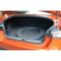 Boot Cargo Mat with full size spare All Weather NEW suitable for Subaru BRZ 2013-2015